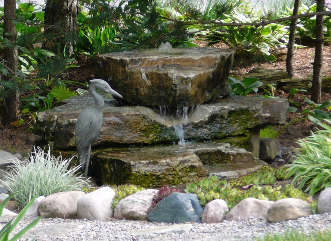 Moonlight & Pines Fountain