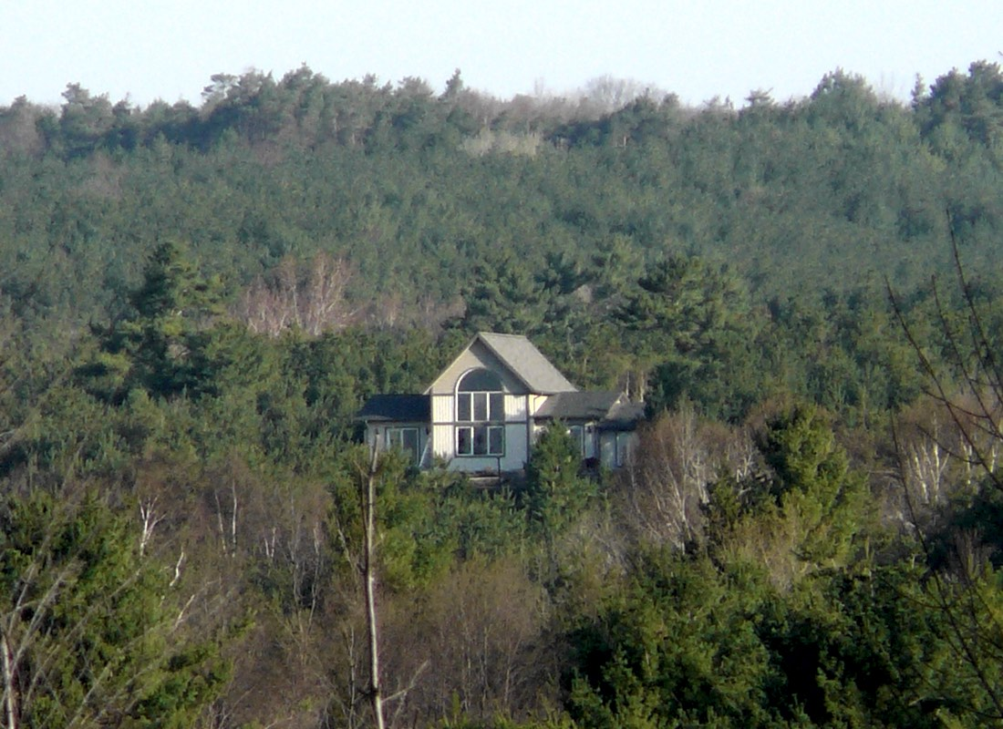 View of Moonlight & Pines B&B from a Distance